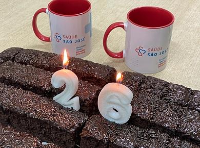 Saúde São José comemora 26 anos em Criciúma